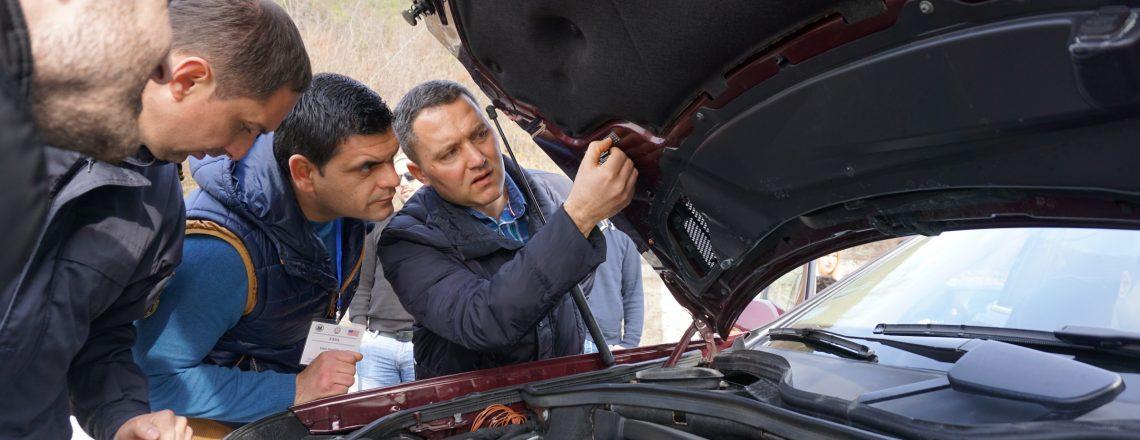 Training on Interdiction of Stolen Vehicles