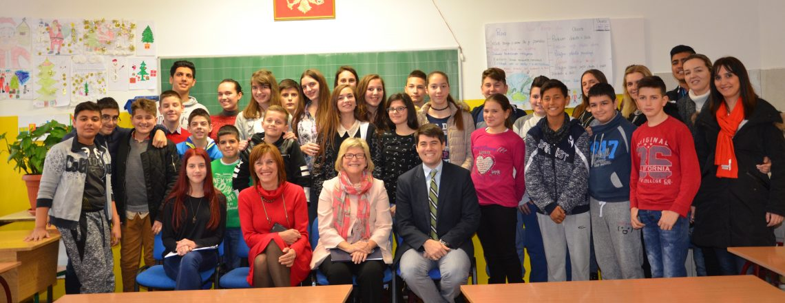 "We visited ES ""Bozidar Vukovic Podgoricanin"""