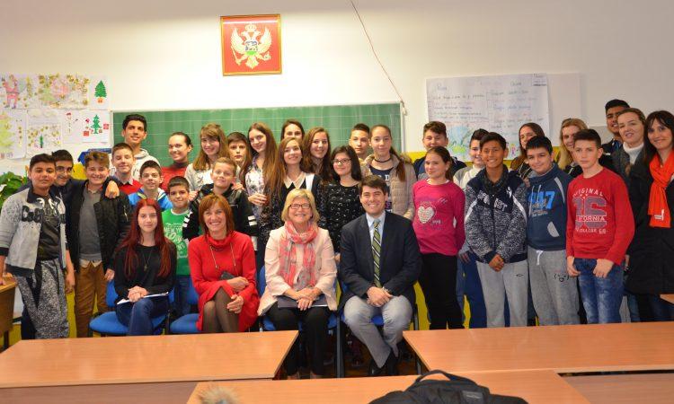 "Visit to ES ""Bozidar Vukovic Podgoricanin"""