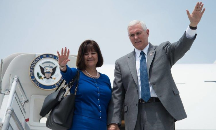 VP and Second Lady