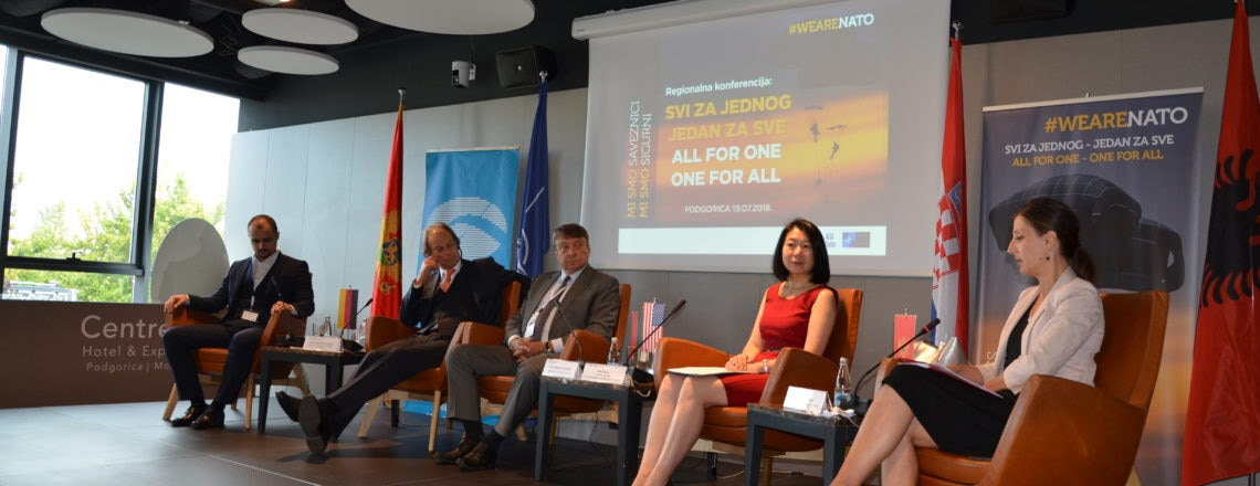 DCM Judy Kuo at Alfa Center Regional NATO Conference
