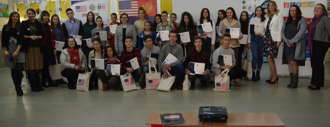 United States Embassy Supports Launch of  Access Microscholarship Program in Nikšić