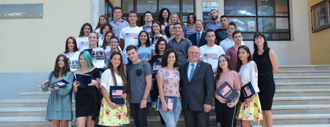 U.S. Government-Supported Access English Language Program Completes in Podgorica