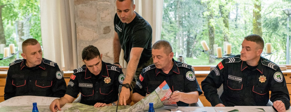 EXBS Training Course on Advanced All-Terrain-Vehicles for Montenegrin Border Police